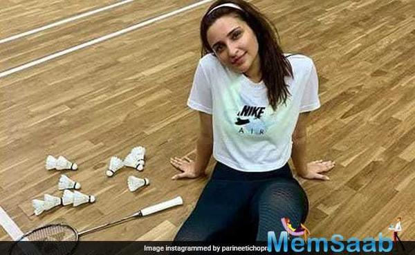 Parineeti Chopra is still learning how to play badminton