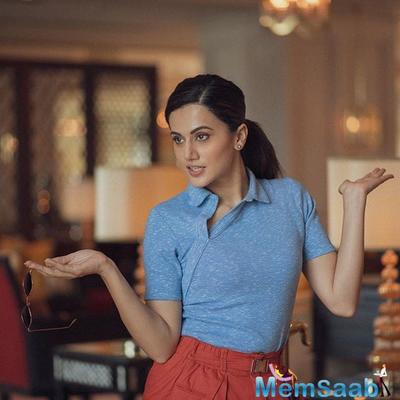It's a work in progress, says Taapsee Pannu on becoming a Bollywood star
