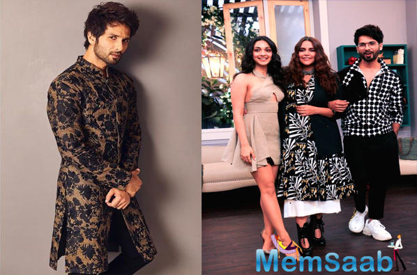 Shahid opens up about having fights with Mira Rajput on Neha Dhupia's chat show: I usually get flustered when we fight
