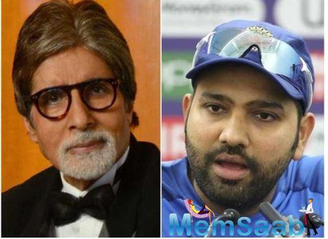 Amitabh Bachchan is impressed by Rohit Sharma! Find out why
