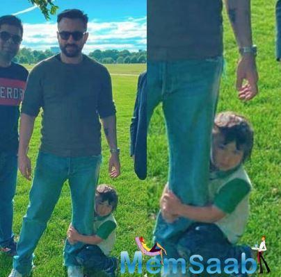 Taimur Ali Khan is daddy's boy and see pics, it's so adorable