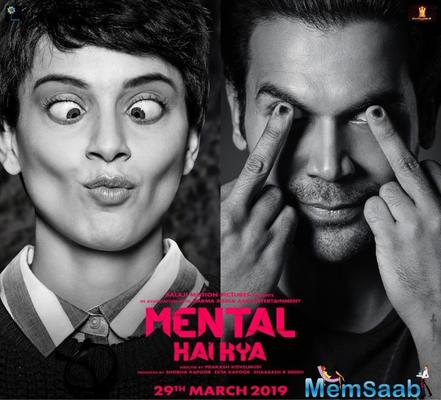 Kangana Ranaut and Rajkummar Rao's Mental Hai Kya trailer launch put on hold; Here's why