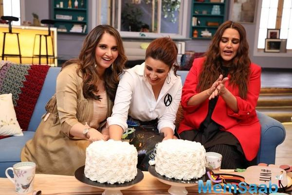 Parineeti Chopra and Sania Mirza go way back. They share one of the most awesome and unlikely friendships in Tinsel Town.
