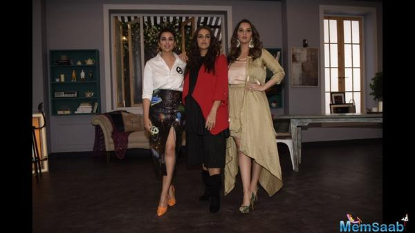 Sania Mirza revealed a secret of her BFF Parineeti Chopra doesn't want anyone to know