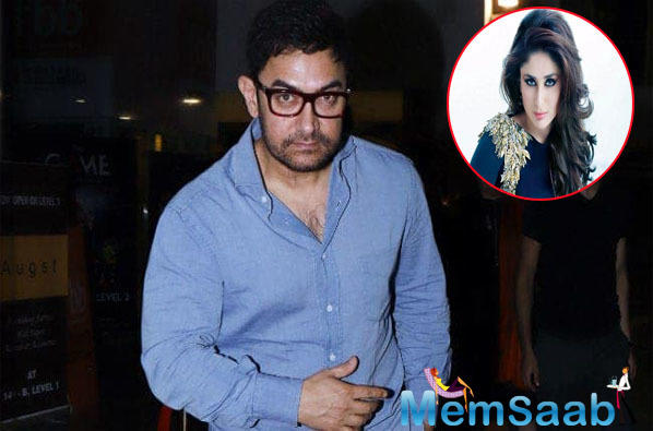 Kareena Kapoor Khan will play the lead role in Aamir's next?