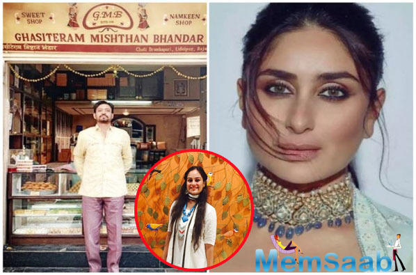 Irrfan's on screen wife in Angrezi Medium says she had no clue Kareena Kapoor Khan features in the film