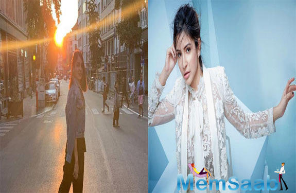 Anushka Sharma is shining bright while shooting in Brussels; see photo