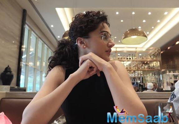 Taapsee Pannu reveals an interesting story behind her name