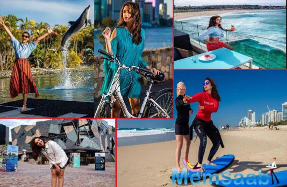Parineeti Chopra helps promote tourism in Australia