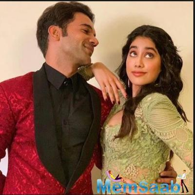 Janhvi Kapoor and Rajkummar Rao's picture from the mountains will leave you excited for RoohiAfza