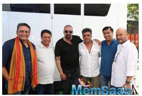 Sanjay Dutt starts shooting for the film Bhuj: The Pride of India