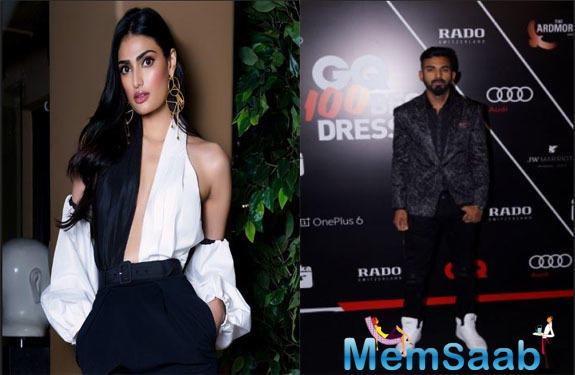 Is something cooking between Athiya Shetty and KL Rahul?