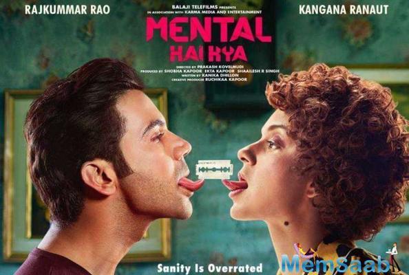 Kangana Ranaut and Rajkummar Rao's Mental Hai Kya renamed to Judgemental Hai Kya