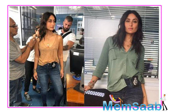 Kareena Kapoor's cop-look from Angrezi Medium is out; see pics