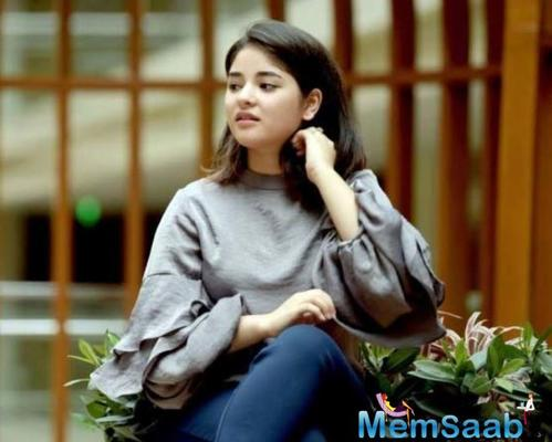 So, we thought this is the time to bring you her exclusive interview. At Aamir Khan's office, we had met her couple of days after she marked a sensational debut in Dangal, followed by the lead role in Secret Superstar.