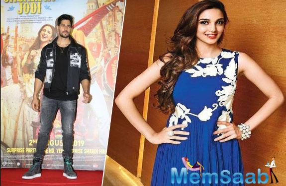 Sidharth Malhotra speaks up on his rumoured love affair with Kiara Advani