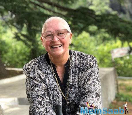 Nafisa Ali Sodhi shares a portfolio photo and pens down a heartfelt note seeking quality work in Indian cinema
