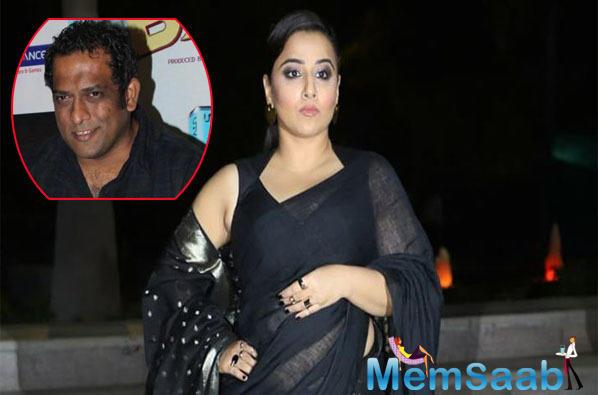 Vidya Balan who will soon be seen in Shakuntala biopic will perhaps turn narrator for Anurag Basu's next.