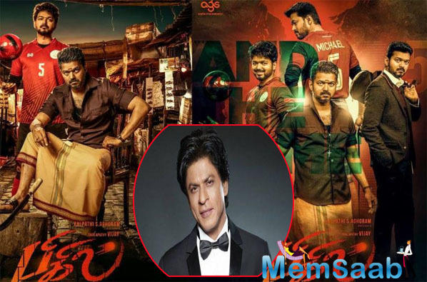 Shah Rukh Khan to shake a leg with Thalapathy Vijay for Bigil?