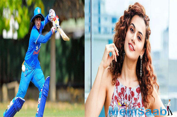 Taapsee Pannu to step into cricketer Mithali Raj's shoes for the biopic