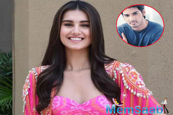 Our chemistry is good: Tara Sutaria on Ahaan Shetty