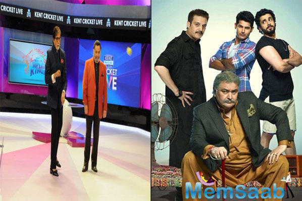 Amitabh Bachchan sends his best wishes for Rishi Kapoor's Film, Jhootha Kahin Ka