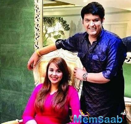 As per India Today.com, Kapil and Ginni are expecting their first child and the comedian is planning a brief vacation with his wife in order to spend some quality time with her.