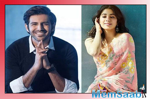 Janhvi Kapoor, Kartik Aaryan to Play Siblings in Karan Johar's Dostana 2?
