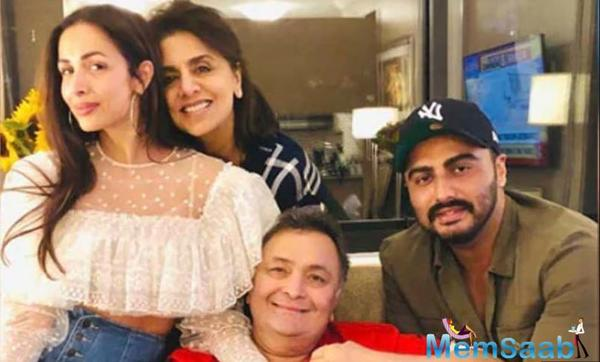 """Rishi thanked the duo for their visit with his tweet that read, """"Thank you Malaika and Arjun for coming. Hope you got to see """"Rocketman"""" and lunch at """"Red Farm."""""""