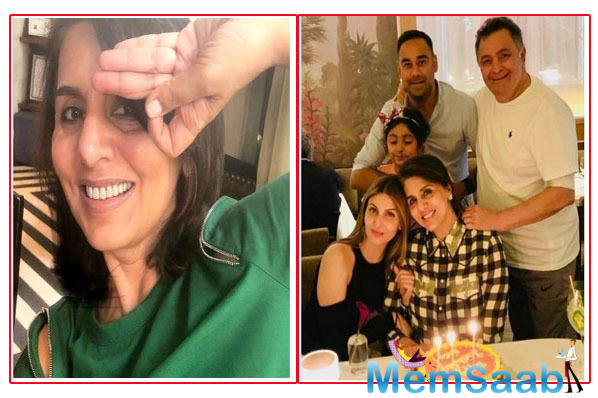 Riddhima wishes mom Neetu Kapoor on her birthday & shares an adorable family snap