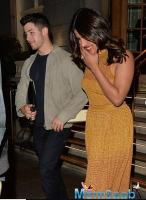 Priyanka Chopra and Nick Jonas are all about belly laughs at late night date in London