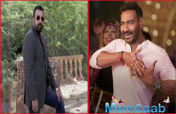 After Holidaying with family, Ajay Devgn is set to join Sanjay Dutt for Bhuj: The Pride of India In Hyderabad