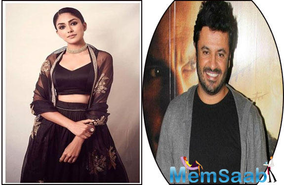 Mrunal, who was working with Vikas Bahl for Super 30, recently opened up about her experience while talking to a news website.