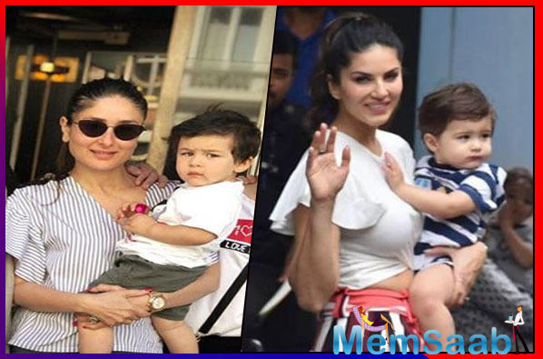 Taimur Ali Khan has a Doppleganger in Sunny Leone's Son