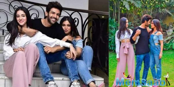 Kartik Aaryan receives a warm welcome on the sets of Pati Patni Aur Woh