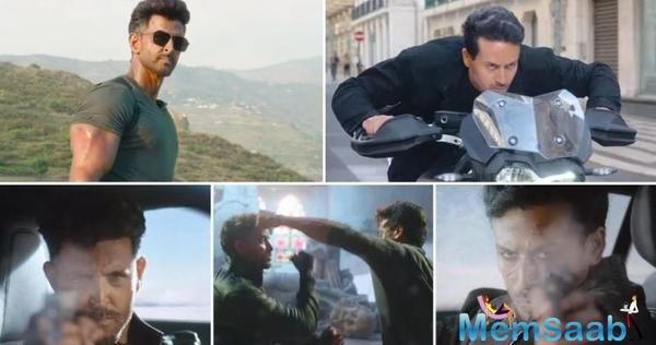 WAR teaser out: Hrithik Roshan and Tiger Shroff engage in deadly battle
