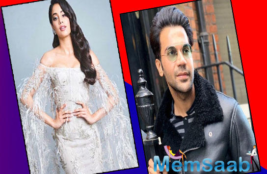 Janhvi Kapoor is way more talented than her performance in Dhadak, Says Rajkummar Rao