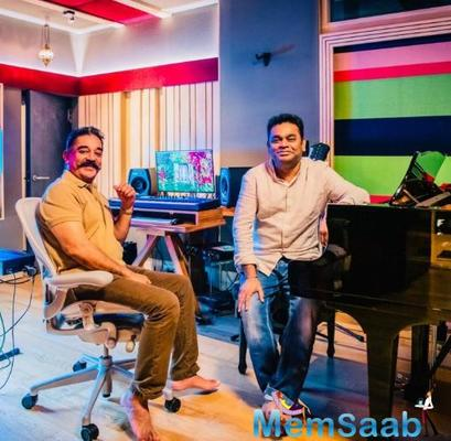 Kamal Haasan & A R Rahman join hands after 19 years for the magnum opus Thalaivan Irukkindraan; Details Inside
