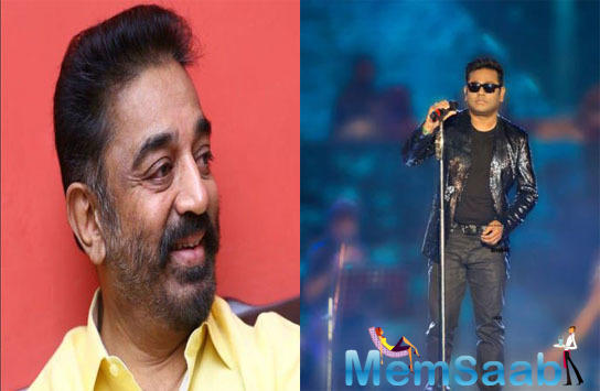 A R Rahman took to Twitter to make a grand announcement about joining hands of working with the legend, Kamal Haasan for an upcoming Magnum Opus