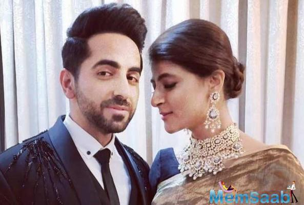 Ayushmann Khurrana gets a lovely surprise from wife Tahira while shooting in Lucknow