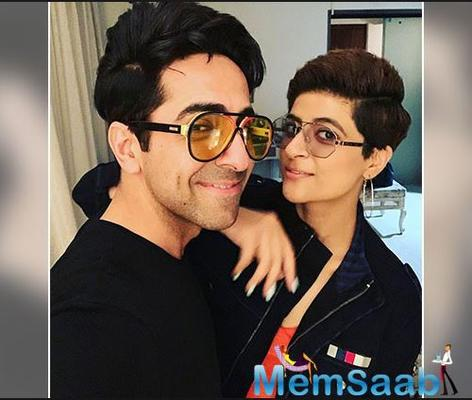 The Badhaai Ho star has been shooting films back to back in Lucknow and has barely been home with his two kids and wife Tahira Kashyap Khurrana.