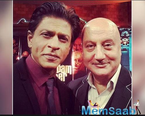 Anupam Kher on SRK's decision to take a break from films: ' It is a good decision , sometimes it helps to reinvent yourself