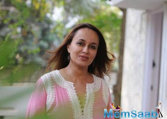 Soni Razdan is busy getting familiar with the universe of Anupama Chandrasekhar's book, When The Crows Visit.