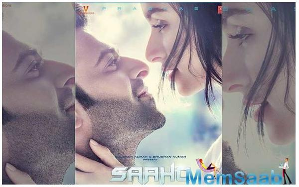 Saaho new poster: Prabhas and Shraddha Kapoor make a sizzling pair!