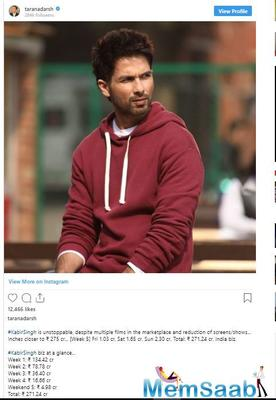 Kabir Singh creates history, Shahid starrer becomes first Indian film to cross 1 million in Australia
