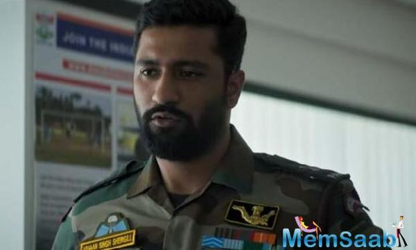 The film was based on the September 18, 2016, attacks on the army headquarters in'Uri', Kashmir, near the LoC.