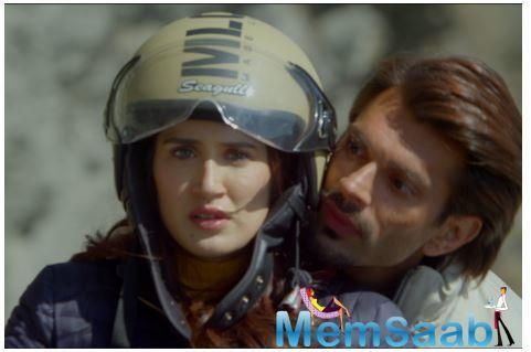 Despite falling a number of times from the bike, Sagarika, who portrays a tough cop, Sakshi Ranjan, from the special crime branch finally gave a perfect shot much to the shock of the entire cast and crew.