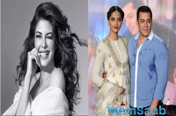 Salman Khan and Sonam Kapoor wish luck to Jacqueline Fernandez