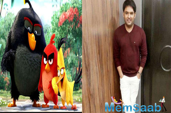 Kapil Sharma on dubbing for Angry Birds 2: Knowing my history, you agreed I'm red