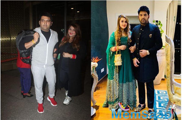 Now, the good news is that Kapil's wife is expecting and the comedian has decided to go for a baby - moon along with her.